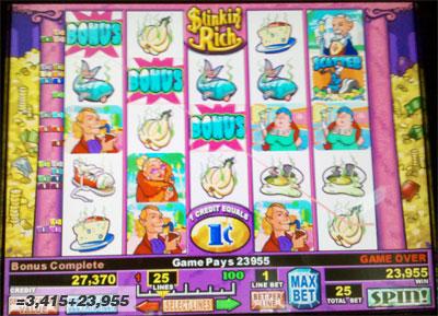 stinkin rich slot machine free