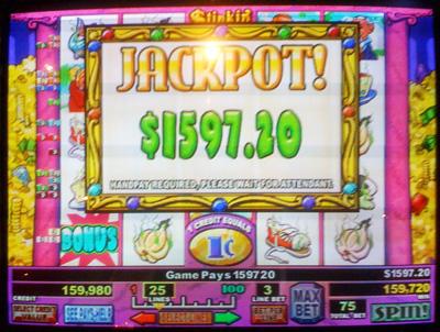 stinkin rich jackpot