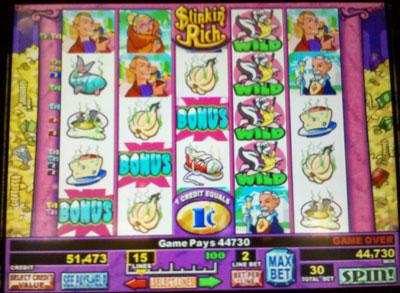 stinkin rich slot machine trick